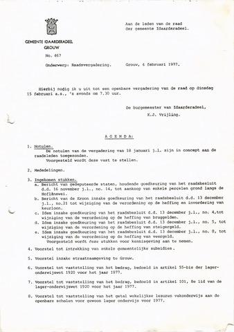 raadsverslagen Idaarderadeel 1935-1983 1977-02-15
