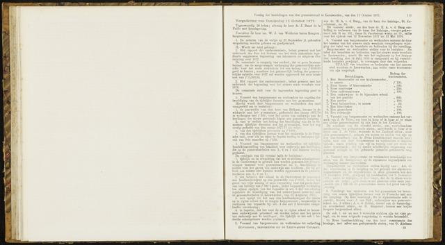 Raadsverslagen van de gemeente Leeuwarden, 1865-2007 (Notulen) 1877-10-11