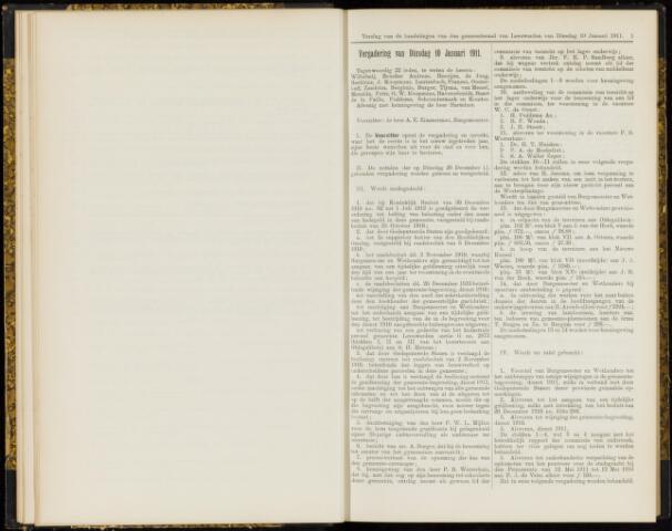 Raadsverslagen van de gemeente Leeuwarden, 1865-2007 (Notulen) 1911