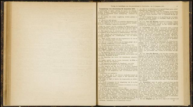 Raadsverslagen van de gemeente Leeuwarden, 1865-2007 (Notulen) 1873-08-28