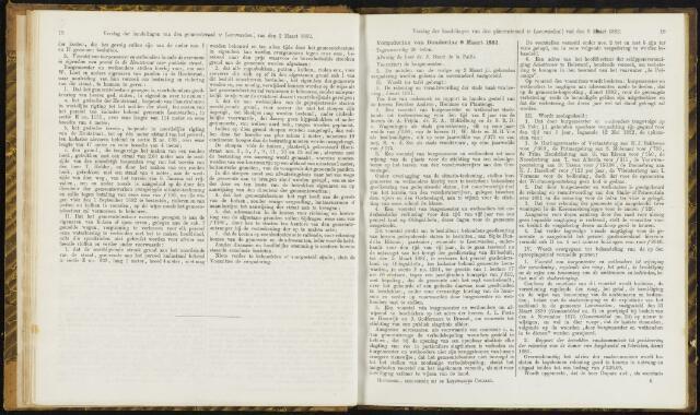 Raadsverslagen van de gemeente Leeuwarden, 1865-2007 (Notulen) 1882-03-09