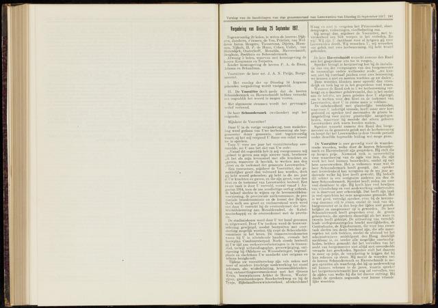 Raadsverslagen van de gemeente Leeuwarden, 1865-2007 (Notulen) 1917-09-25