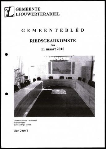 Notulen van de gemeenteraad van Leeuwarderadeel 2010-03-11