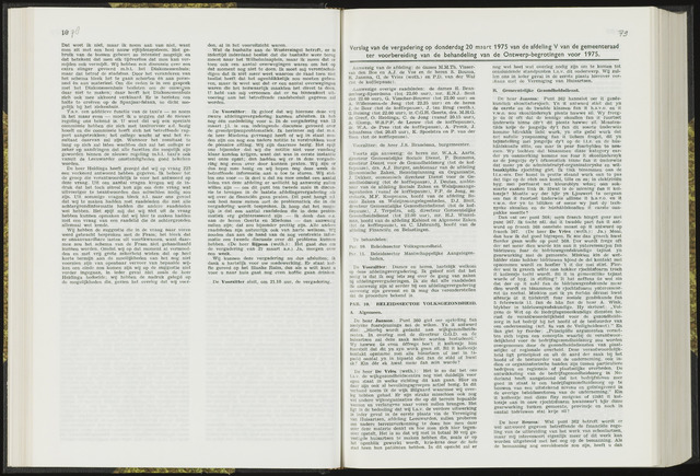 Raadsverslagen van de gemeente Leeuwarden, 1865-2007 (Notulen) 1975-03-20