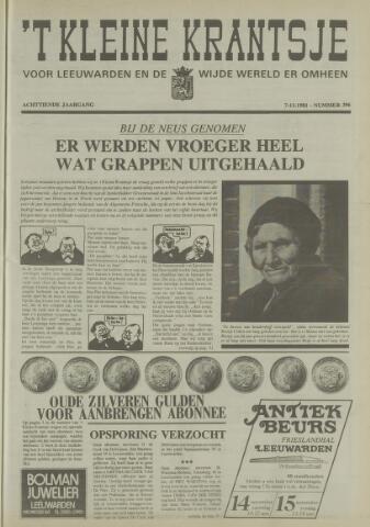 't Kleine Krantsje, 1964-1997 1981-11-07