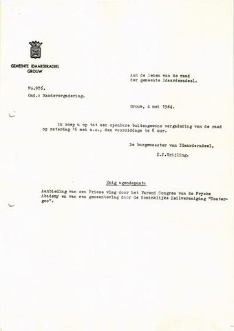 raadsverslagen Idaarderadeel 1935-1983 1964-05-16