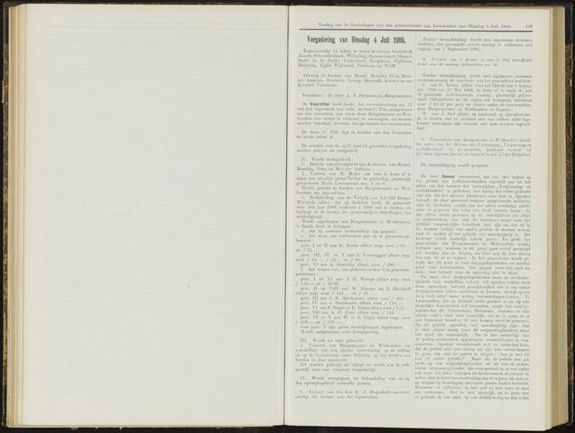 Raadsverslagen van de gemeente Leeuwarden, 1865-2007 (Notulen) 1905-07-04