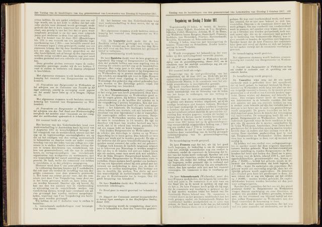 Raadsverslagen van de gemeente Leeuwarden, 1865-2007 (Notulen) 1917-10-02