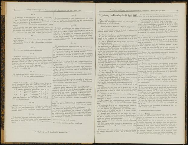Raadsverslagen van de gemeente Leeuwarden, 1865-2007 (Notulen) 1889-04-16