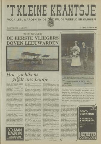 't Kleine Krantsje, 1964-1997 1981-06-27