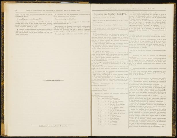 Raadsverslagen van de gemeente Leeuwarden, 1865-2007 (Notulen) 1887-03-01