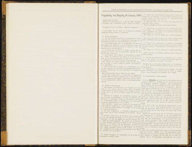Raadsverslagen van de gemeente Leeuwarden, 1865-2007 (Notulen) 1890-01-28