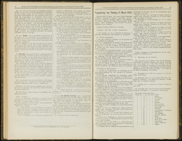 Raadsverslagen van de gemeente Leeuwarden, 1865-2007 (Notulen) 1902-03-11