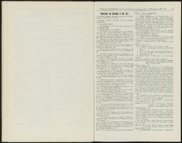 Raadsverslagen van de gemeente Leeuwarden, 1865-2007 (Notulen) 1941-05-14