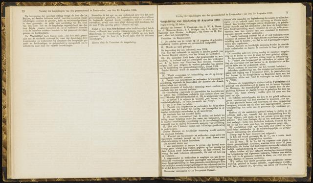 Raadsverslagen van de gemeente Leeuwarden, 1865-2007 (Notulen) 1883-08-23