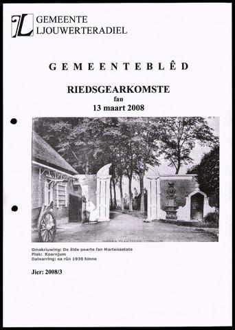 Notulen van de gemeenteraad van Leeuwarderadeel 2008-03-13