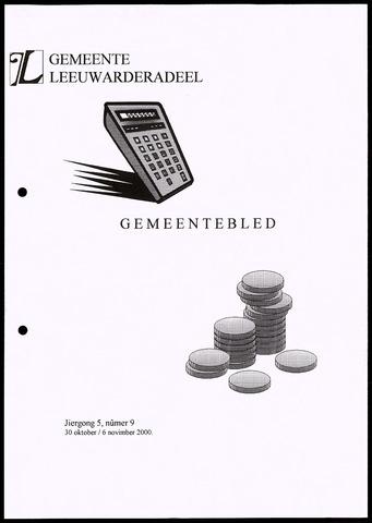 Notulen van de gemeenteraad van Leeuwarderadeel 2000-10-30
