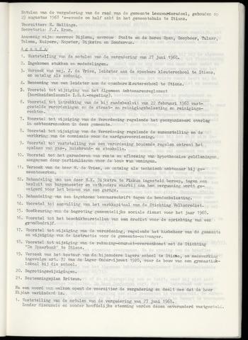Notulen van de gemeenteraad van Leeuwarderadeel 1968-08-29