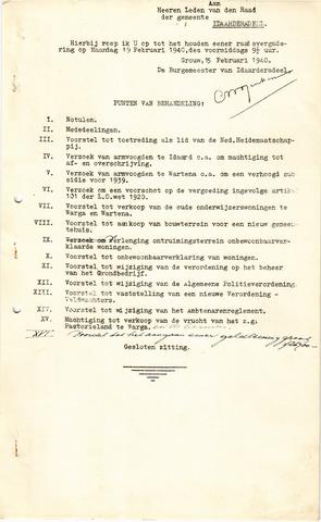 raadsverslagen Idaarderadeel 1935-1983 1940