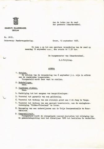 raadsverslagen Idaarderadeel 1935-1983 1966-09-19
