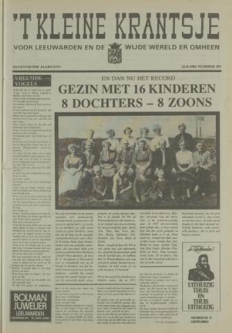 't Kleine Krantsje, 1964-1997 1981-08-22