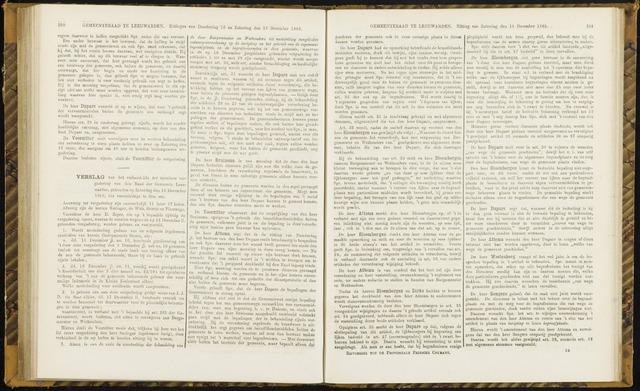 Raadsverslagen van de gemeente Leeuwarden, 1865-2007 (Notulen) 1869-12-18