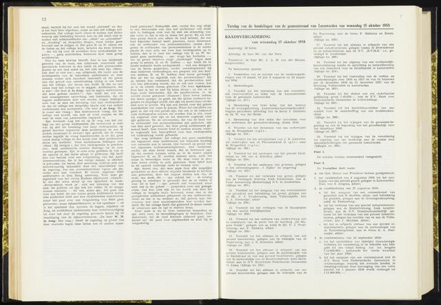 Raadsverslagen van de gemeente Leeuwarden, 1865-2007 (Notulen) 1958-10-15