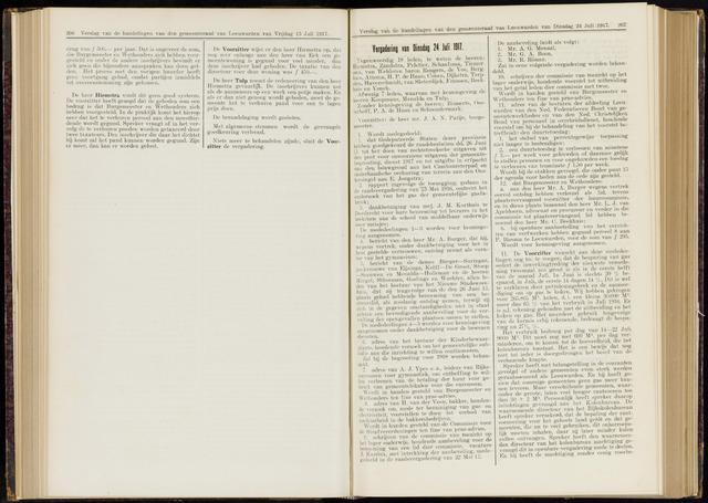 Raadsverslagen van de gemeente Leeuwarden, 1865-2007 (Notulen) 1917-07-24
