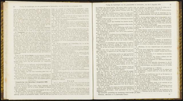 Raadsverslagen van de gemeente Leeuwarden, 1865-2007 (Notulen) 1879-08-02