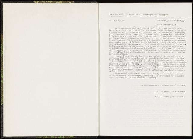 Raadsverslagen van de gemeente Leeuwarden, 1865-2007 (Bijlagen) 1979-01-01