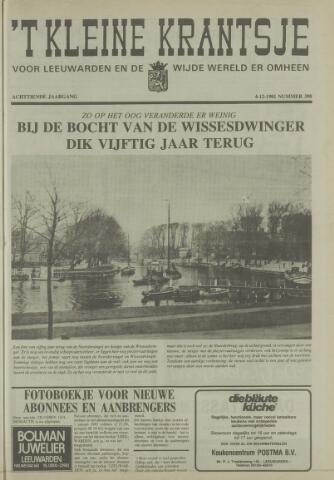 't Kleine Krantsje, 1964-1997 1981-12-04