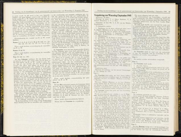 Raadsverslagen van de gemeente Leeuwarden, 1865-2007 (Notulen) 1948-01-09
