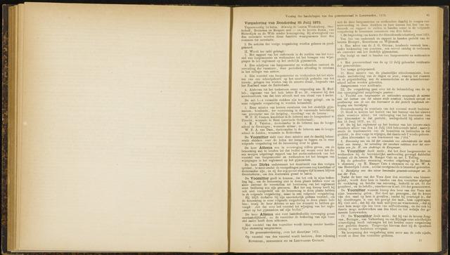 Raadsverslagen van de gemeente Leeuwarden, 1865-2007 (Notulen) 1872-07-25
