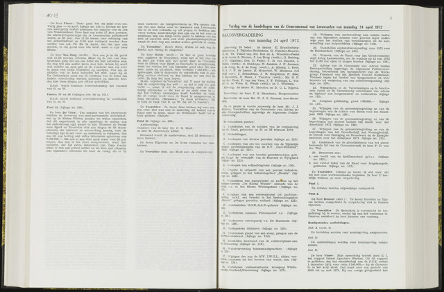 Raadsverslagen van de gemeente Leeuwarden, 1865-2007 (Notulen) 1972-04-24