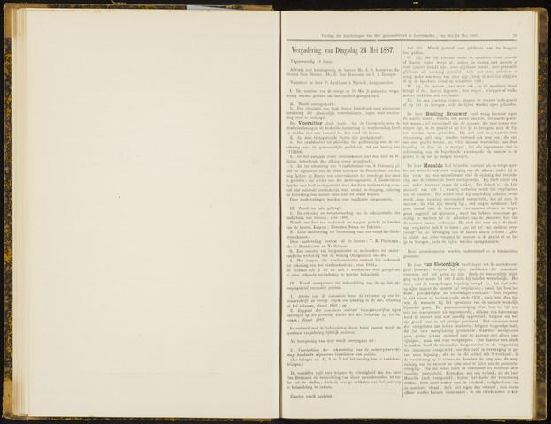 Raadsverslagen van de gemeente Leeuwarden, 1865-2007 (Notulen) 1887-05-24