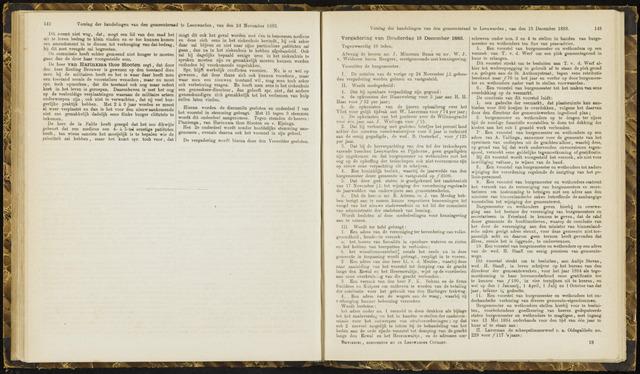 Raadsverslagen van de gemeente Leeuwarden, 1865-2007 (Notulen) 1883-12-13