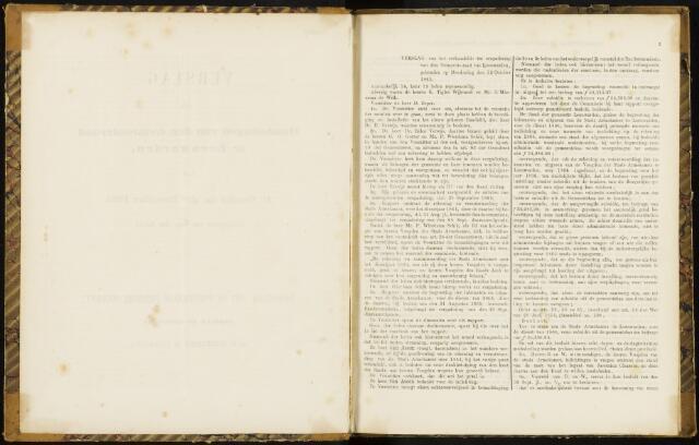 Raadsverslagen van de gemeente Leeuwarden, 1865-2007 (Notulen) 1865