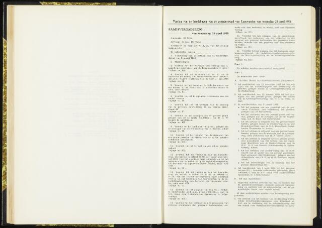 Raadsverslagen van de gemeente Leeuwarden, 1865-2007 (Notulen) 1958-04-23