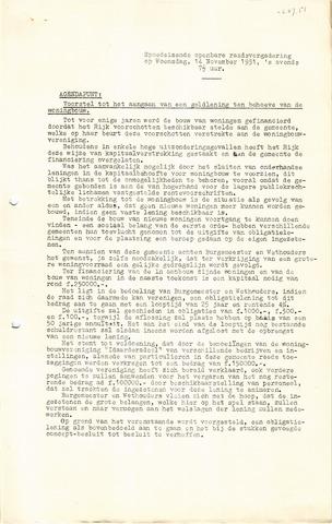 raadsverslagen Idaarderadeel 1935-1983 1951-11-14
