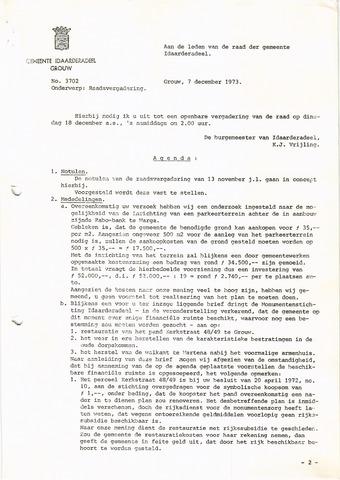 raadsverslagen Idaarderadeel 1935-1983 1973-12-12
