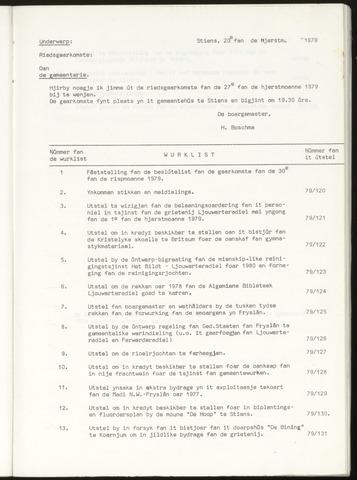 Notulen van de gemeenteraad van Leeuwarderadeel 1979-09-27