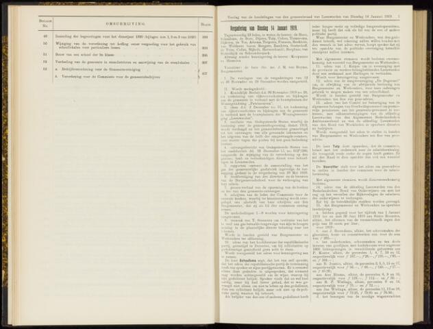 Raadsverslagen van de gemeente Leeuwarden, 1865-2007 (Notulen) 1919
