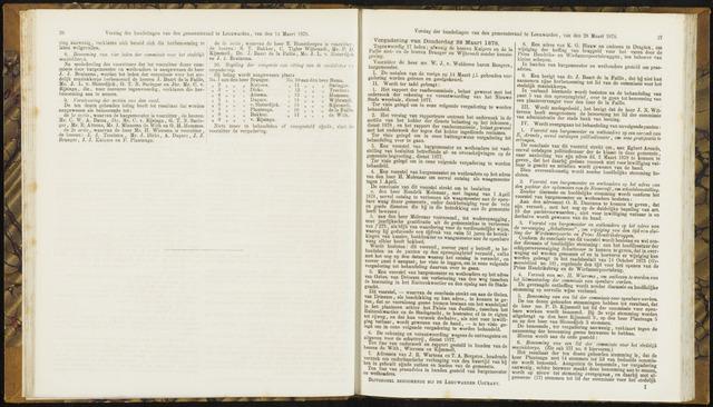 Raadsverslagen van de gemeente Leeuwarden, 1865-2007 (Notulen) 1878-03-28