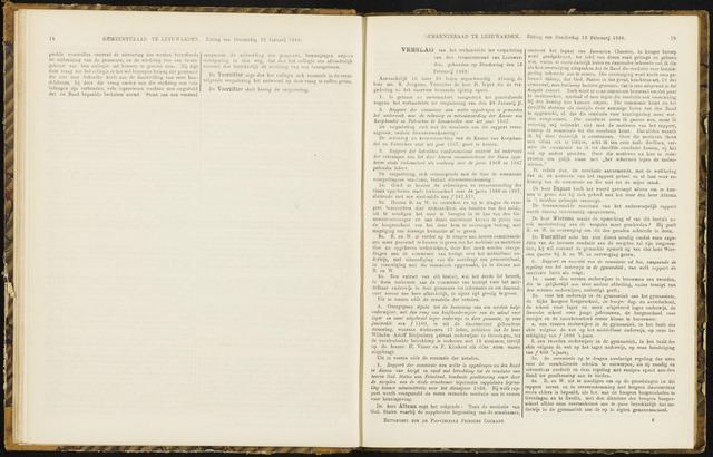 Raadsverslagen van de gemeente Leeuwarden, 1865-2007 (Notulen) 1868-02-13