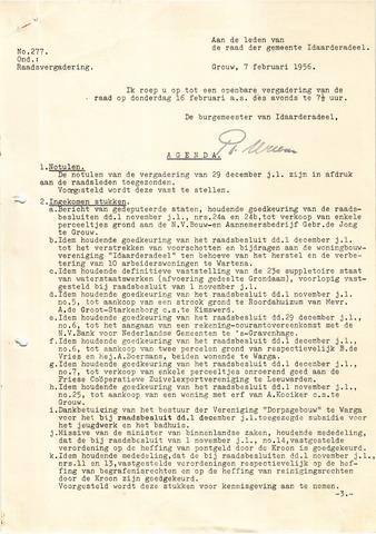 raadsverslagen Idaarderadeel 1935-1983 1956-02-16