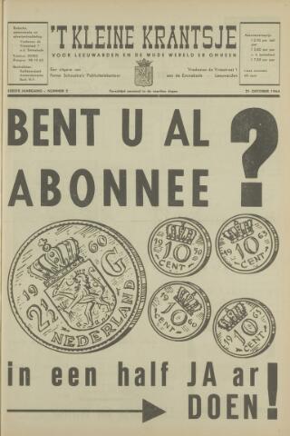 't Kleine Krantsje, 1964-1997 1964-10-21