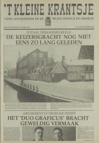 't Kleine Krantsje, 1964-1997 1984-11-03