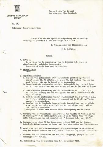raadsverslagen Idaarderadeel 1935-1983 1967