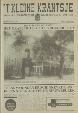 't Kleine Krantsje, 1964-1997 1979-05-19
