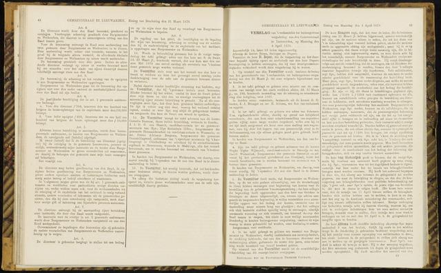Raadsverslagen van de gemeente Leeuwarden, 1865-2007 (Notulen) 1870-04-04
